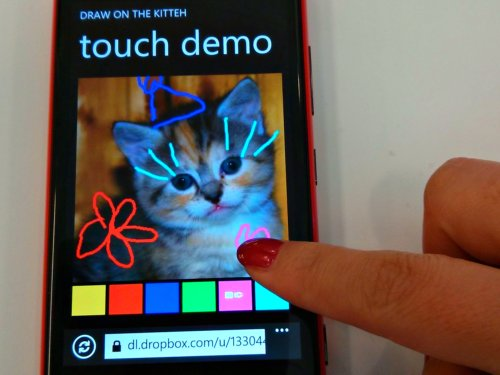 demo on Lumia
