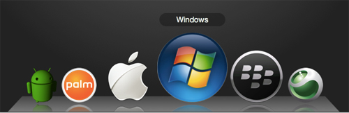 css3 Dock screenshot