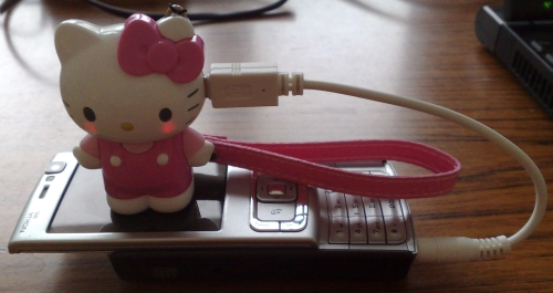 Omg Hello Kitty Mobile Phone